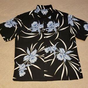 💜Quicksilver Dress Shirt size L